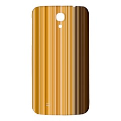 Brown Verticals Lines Stripes Colorful Samsung Galaxy Mega I9200 Hardshell Back Case by Mariart
