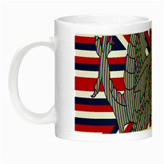 Alternatively Mega British America Dragon Illustration Night Luminous Mugs by Mariart