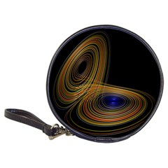 Wondrous Trajectorie Illustrated Line Light Black Classic 20 Cd Wallets by Mariart