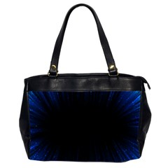 Colorful Light Ray Border Animation Loop Blue Motion Background Space Office Handbags (2 Sides)  by Mariart
