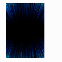 Colorful Light Ray Border Animation Loop Blue Motion Background Space Large Garden Flag (two Sides) by Mariart
