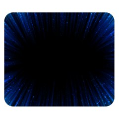 Colorful Light Ray Border Animation Loop Blue Motion Background Space Double Sided Flano Blanket (small)  by Mariart