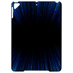 Colorful Light Ray Border Animation Loop Blue Motion Background Space Apple Ipad Pro 9 7   Hardshell Case by Mariart