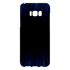 Colorful Light Ray Border Animation Loop Blue Motion Background Space Samsung Galaxy S8 Plus Hardshell Case  by Mariart