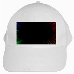Colorful Light Ray Border Animation Loop Rainbow Motion Background Space White Cap by Mariart
