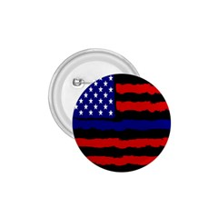 Flag American Line Star Red Blue White Black Beauty 1 75  Buttons by Mariart