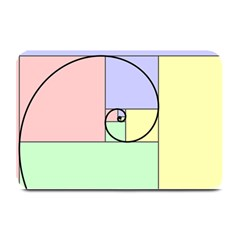 Golden Spiral Logarithmic Color Plate Mats by Mariart