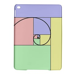Golden Spiral Logarithmic Color Ipad Air 2 Hardshell Cases by Mariart