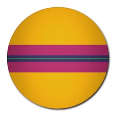 Layer Retro Colorful Transition Pack Alpha Channel Motion Line Round Mousepads by Mariart