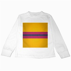 Layer Retro Colorful Transition Pack Alpha Channel Motion Line Kids Long Sleeve T Shirts by Mariart