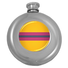 Layer Retro Colorful Transition Pack Alpha Channel Motion Line Round Hip Flask (5 Oz) by Mariart