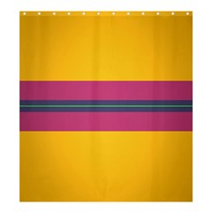 Layer Retro Colorful Transition Pack Alpha Channel Motion Line Shower Curtain 66  X 72  (large)  by Mariart