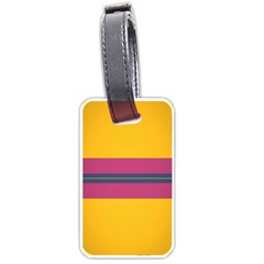 Layer Retro Colorful Transition Pack Alpha Channel Motion Line Luggage Tags (two Sides) by Mariart