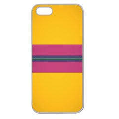 Layer Retro Colorful Transition Pack Alpha Channel Motion Line Apple Seamless Iphone 5 Case (clear) by Mariart