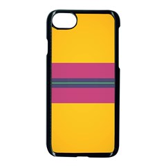 Layer Retro Colorful Transition Pack Alpha Channel Motion Line Apple Iphone 7 Seamless Case (black) by Mariart