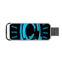 Graphics Abstract Motion Background Eybis Foxe Portable Usb Flash (two Sides) by Mariart