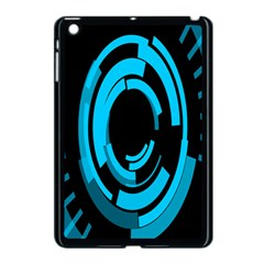 Graphics Abstract Motion Background Eybis Foxe Apple Ipad Mini Case (black) by Mariart