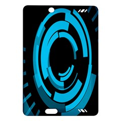 Graphics Abstract Motion Background Eybis Foxe Amazon Kindle Fire Hd (2013) Hardshell Case by Mariart