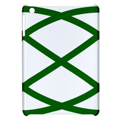 Lissajous Small Green Line Apple Ipad Mini Hardshell Case by Mariart