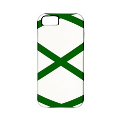Lissajous Small Green Line Apple Iphone 5 Classic Hardshell Case (pc+silicone) by Mariart