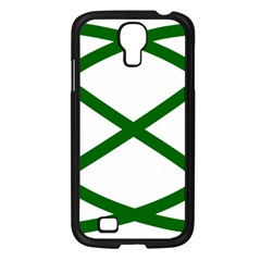 Lissajous Small Green Line Samsung Galaxy S4 I9500/ I9505 Case (black) by Mariart