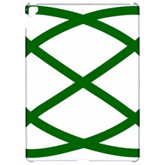 Lissajous Small Green Line Apple Ipad Pro 12 9   Hardshell Case by Mariart