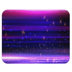 Massive Flare Lines Horizon Glow Particles Animation Background Space Double Sided Flano Blanket (medium)  by Mariart