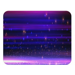 Massive Flare Lines Horizon Glow Particles Animation Background Space Double Sided Flano Blanket (large)  by Mariart