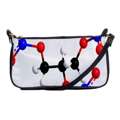 Nitroglycerin Lines Dna Shoulder Clutch Bags by Mariart
