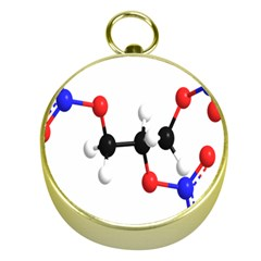 Nitroglycerin Lines Dna Gold Compasses by Mariart