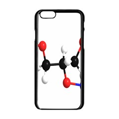 Nitroglycerin Lines Dna Apple Iphone 6/6s Black Enamel Case by Mariart