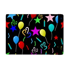 Party Pattern Star Balloon Candle Happy Apple Ipad Mini Flip Case by Mariart