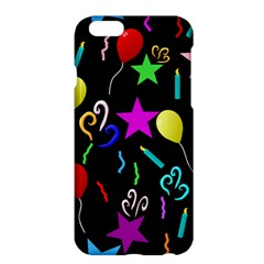 Party Pattern Star Balloon Candle Happy Apple Iphone 6 Plus/6s Plus Hardshell Case by Mariart