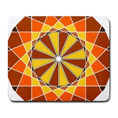 Ornaments Art Line Circle Large Mousepads by Mariart