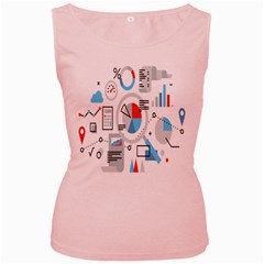 Science Mathematics Formula Women s Pink Tank Top by Mariart