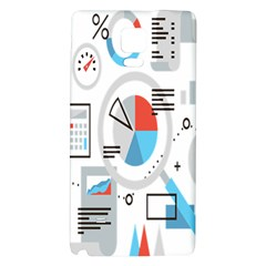 Science Mathematics Formula Galaxy Note 4 Back Case by Mariart