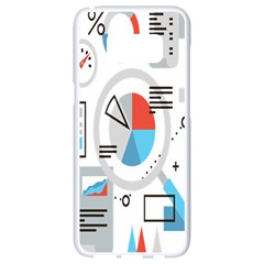 Science Mathematics Formula Samsung Galaxy S8 White Seamless Case by Mariart