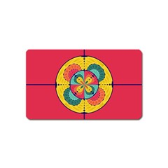 Color Scope Magnet (name Card) by linceazul