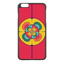 Color Scope Apple Iphone 6 Plus/6s Plus Black Enamel Case by linceazul