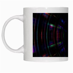 Psychic Color Circle Abstract Dark Rainbow Pattern Wallpaper White Mugs by Mariart