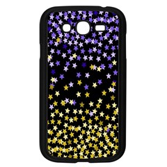 Space Star Light Gold Blue Beauty Samsung Galaxy Grand Duos I9082 Case (black) by Mariart