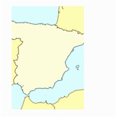 Spain Map Modern Large Garden Flag (two Sides) by Mariart