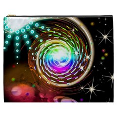 Space Star Planet Light Galaxy Moon Cosmetic Bag (xxxl)  by Mariart