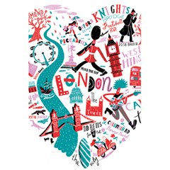 London Illustration City 5 5  X 8 5  Notebooks by Mariart