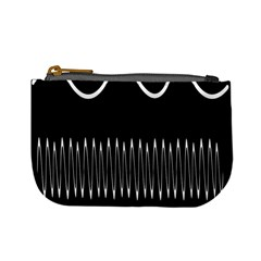 Style Line Amount Wave Chevron Mini Coin Purses by Mariart