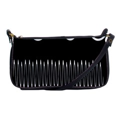 Style Line Amount Wave Chevron Shoulder Clutch Bags by Mariart