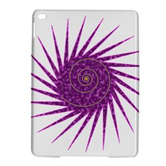 Spiral Purple Star Polka Ipad Air 2 Hardshell Cases by Mariart