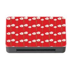 Sunflower Red Star Beauty Flower Floral Memory Card Reader With Cf by Mariart
