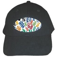 The Wreath Matisse Beauty Rainbow Color Sea Beach Black Cap by Mariart
