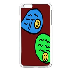 Version Colors Transparent Elements Emoticons Alpha Transparency Apple Iphone 6 Plus/6s Plus Enamel White Case by Mariart